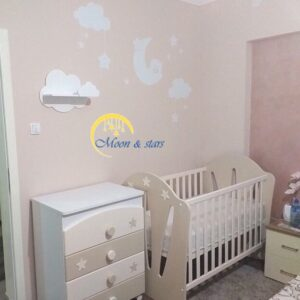 Krevetac i komoda 14, MOON & STARS