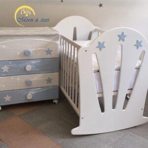 Krevetac i komoda 10, MOON & STARS