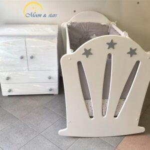 Krevetac i komoda 09, MOON & STARS