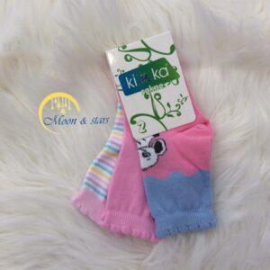 Čarapice za bebe 002, MOON & STARS
