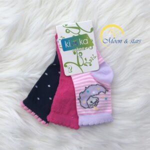 Čarapice za bebe 004, MOON & STARS