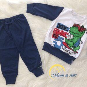 Pidžama za bebe 02, MOON & STARS