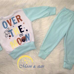 Pidžama za bebe 04, MOON & STARS