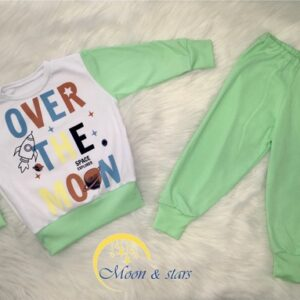 Pidžama za bebe 06, MOON & STARS