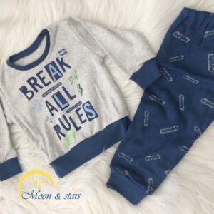 Pidžama za bebe 09, MOON & STARS